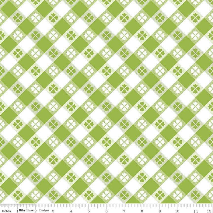 Glamper-licious - Per Yard - Riley Blake Designs By Samantha Walker. Cheater Green - RebsFabStash