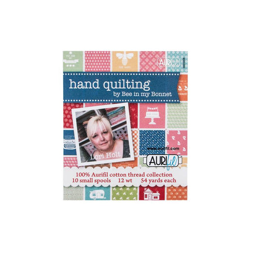 Hand Quilting Thread Box by Aurifil - Lori Holt - Riley Blake Designs - Bee in my Bonnet - 10 premium cotton threads - RebsFabStash