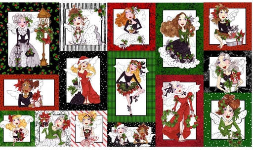 Fairy Merry - Panel - Loralie Harris Designs - C (2M)