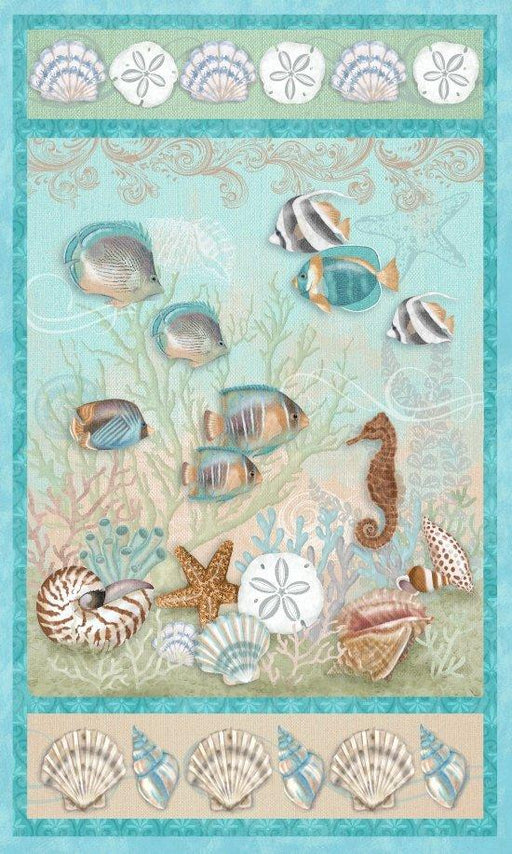 Seaside Dreams - Panel - Sharla Fults - Studio e - Beauty and Tranquility!