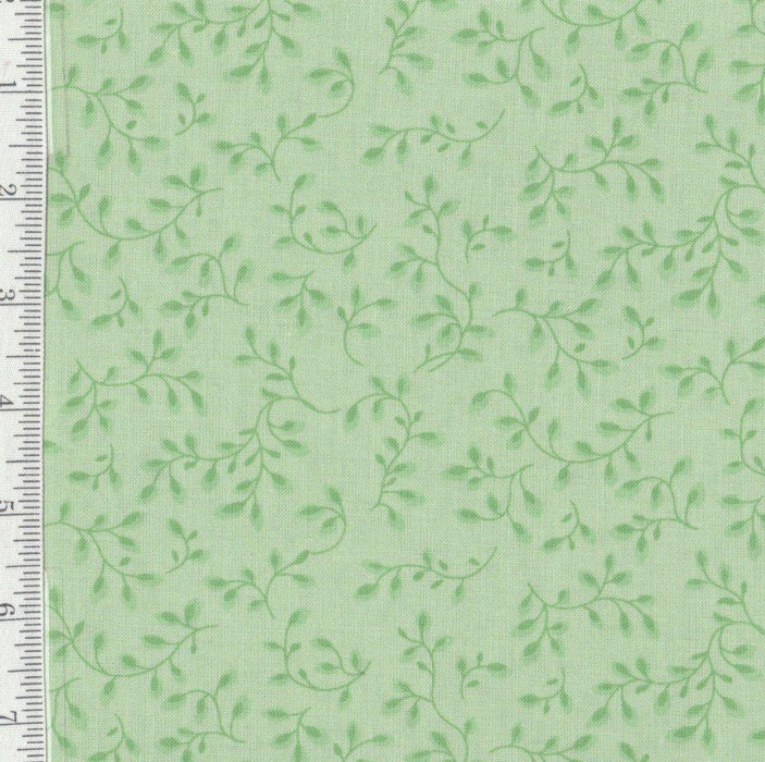 "108"" WIDE - Per yd - Folio - Henry Glass - Soft Green - quilt back - wide back"