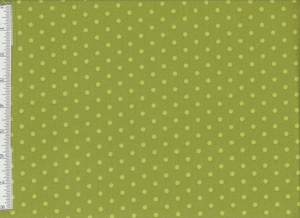 Caravan Roundup -  Per Yard - MODA  - by Mary Jane Butters - Dots on Yellow