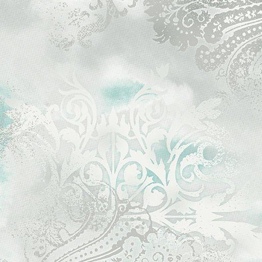 Dreamscape - Per Yd - Benartex - Beautiful Cotton Screenprint - Cloud - Color 08