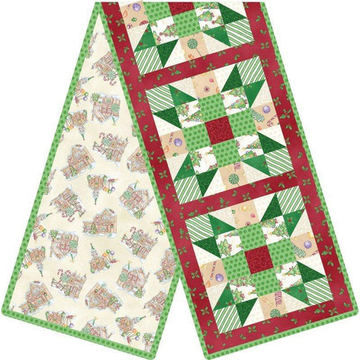 Gingerbread Christmas - POD - Sisters Choice Table Runner Kit - Maywood Studio