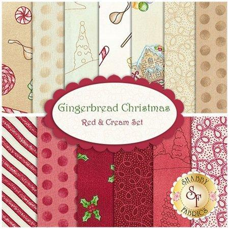 "Gingerbread Christmas - REMNANT 1 yd 26"" - Maywood Studio - Meg Hawkey - Dots on green"
