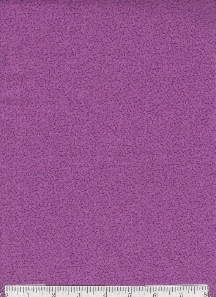 Bear Essentials - Per Yd - P&B Textiles -  Purple - Color # 00665