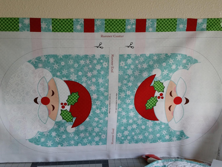 Christmas Cheer - Table Runner Panel - Patrick Lose Fabrics - How Cute is This?