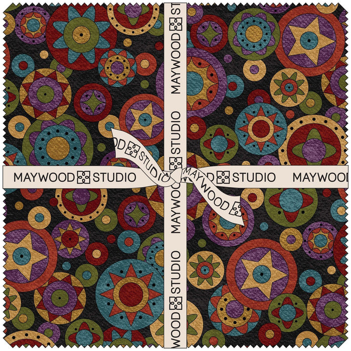 "NEW!  Penny Rug FLANNEL- Tote Bag KIT - Designed By Bonnie Sullivan for Maywood Fabrics 15"" x 20"""