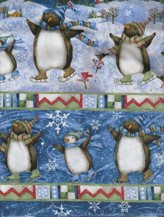 Winter Wonderland - 2 yds - Deb Hron - SPX Fabrics - Border Print