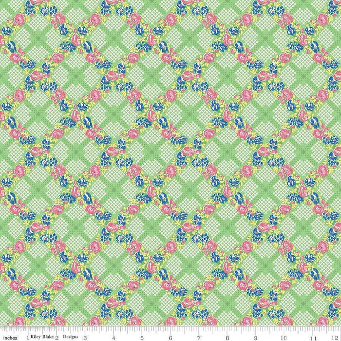 "NEW! Mae Flowers - Charm pack 5"" squares - Penny Rose Fabrics - Lindsay Wilkes from Cottage Mama"