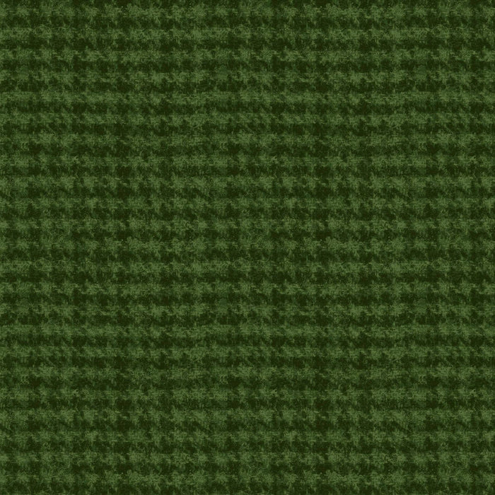 Woolies FLANNEL - Per Yard - Bonnie Sullivan for Maywood Studio - MASF 18506 - G - Black Dots on Green
