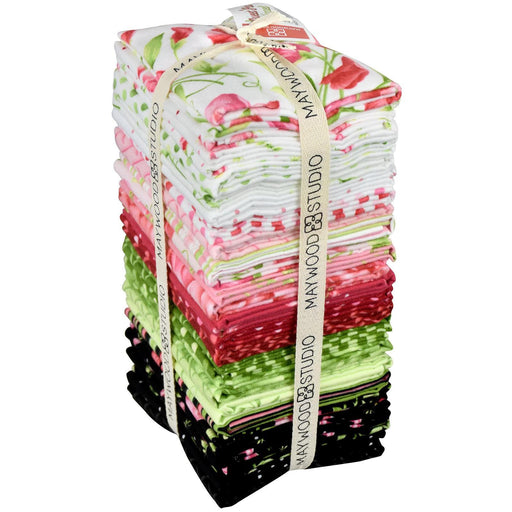 "NEW!! Sweet Pea Flannel by Maywood Studio! - Quilt Market Release - Fat Quarter Bundle - (27) 18"" x 22"""