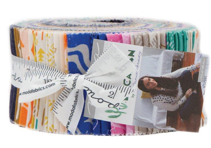 "New!  Yucatan - Jelly Roll (40) 2.5"" Strips - Moda - by Annie Brady"