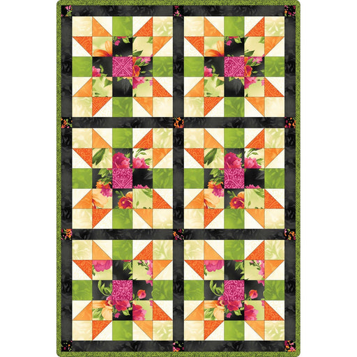Paradise fabrics by Maywood Studio - Sister's Choice POD Quilt Kit -