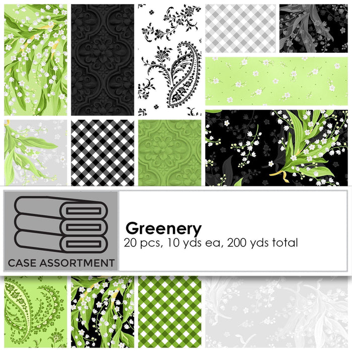 NEW! Fair & Square - Quilt Kit - Maywood Studio - Uses Greenery Fabric by Maywood - Designed by Hunter Design Studio - Sam Hunter