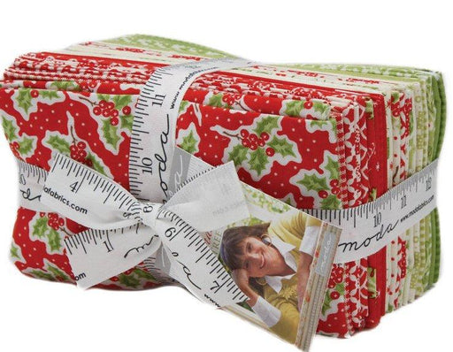 "New! Christmas Figs - Fat Eighths Bundle (27) 9"" x 21"" pieces - Fig Tree Quilts - MODA - Quilting/Sewing Fabric"