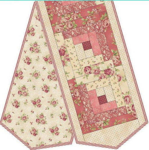 Welcome Home - Log Cabin Table Runner Kit -  Maywood Studio PODS WHC1-2