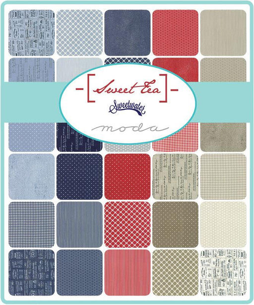 "Early Release! New! Sweet Tea- Layer Cake (42) 10"" squares - by Sweetwater - MODA - Quilting/Sewing Fabric"