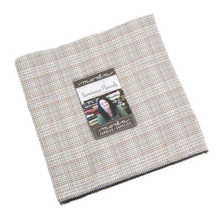 "NEW! Farmhouse Flannels - Primitive Gatherings - Layer Cake (42) 10"" squares"