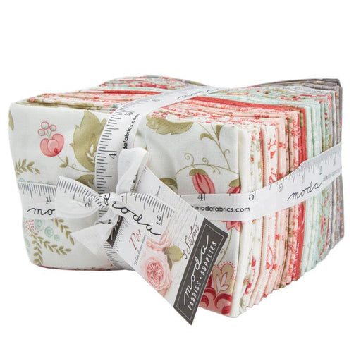 "New! Early Release! Porcelain - Fat Eighth Bundle (F8) (40) 9"" x 21"" pieces - 3 sisters - MODA - Quilting/Sewing Fabric"