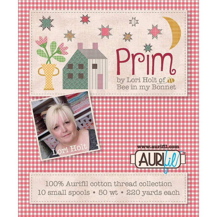 IT'S HERE!! Lori Holt PRIM Aurifil thread set - Matches PRIM fabrics - Riley Blake - Expected to ship July 2020! - RebsFabStash