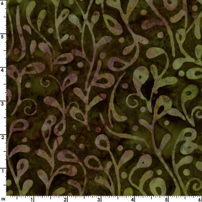 "Java Batiks - Earth - PROMO Fat Quarter Bundle - (9) 18"" x 21"" pieces - by Maywood - browns, greens, tans - RebsFabStash"