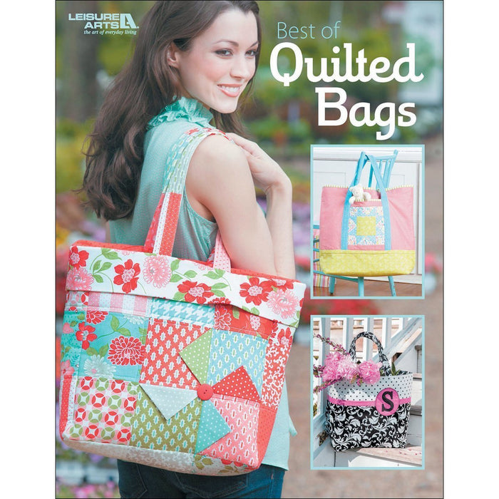 LA-7061 Leisure Arts-Best Of Quilted Bags - UPC 028906070613 - RebsFabStash