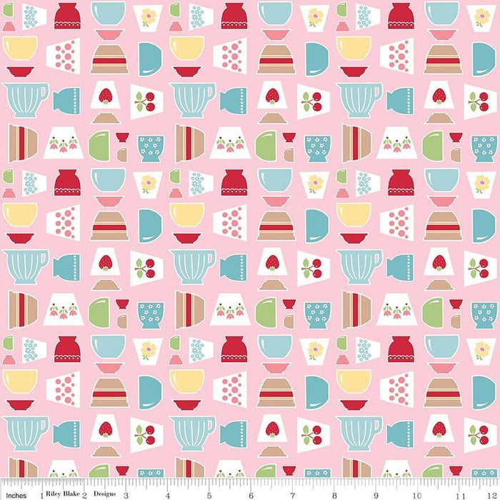 Let's Bake Chunky Thread #1 - Lori Holt for Riley Blake Designs - Use for all her Sew Alongs - Bee in my Bonnet - Sampler Pack - 6 skeins - RebsFabStash