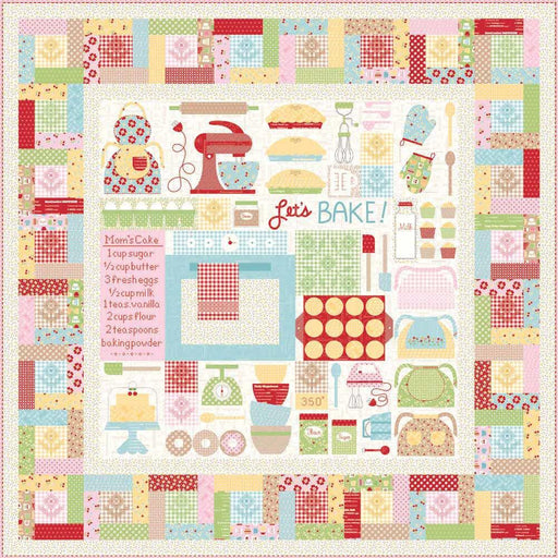 Lori Holt Bake Sale 2 - Quilt Kit - Riley Blake Designs - Let's Bake Sew Along - Option for trim kit too! - RebsFabStash