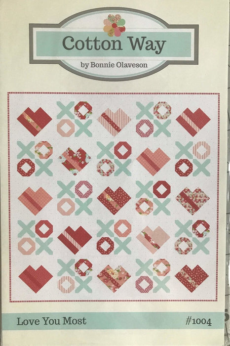 Love You Most pattern by Cotton Way by Bonnie Olaveson - #1004 - RebsFabStash