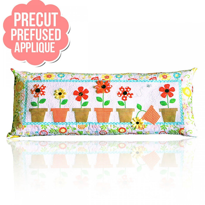 May Flowers Bench Pillow PRE-FUSED Applique Kit- designed by Kimberbell - Interchangeable Covers and Bench Pillow - RebsFabStash