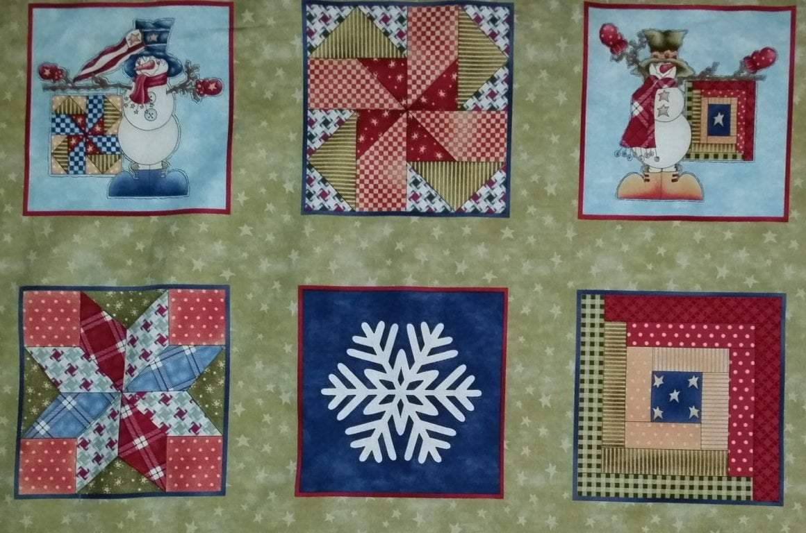My Precious Quilt- Panel- Henry Glass by Leanne Anderson - Blocks - RebsFabStash