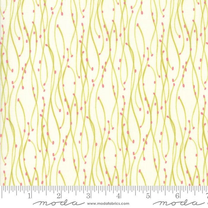 NEW! Abby Rose - Citrus Flowers in the Wild - by the yard - by Robin Pickens - Moda - Spring colors, shades, floral - RebsFabStash
