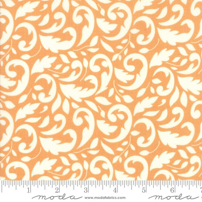 New! All Hallows Eve - Ghost - by the yard - by Joanna Figueroa for Moda - Fig Tree & Company - Natural Crisscross - 20356-16 - RebsFabStash