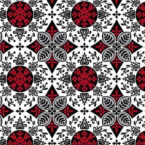NEW! Black, White, and Red Hot Runner Kit - by Color Principle for Henry Glass - Pattern by Heidi Pridemore - Bold colors - RebsFabStash