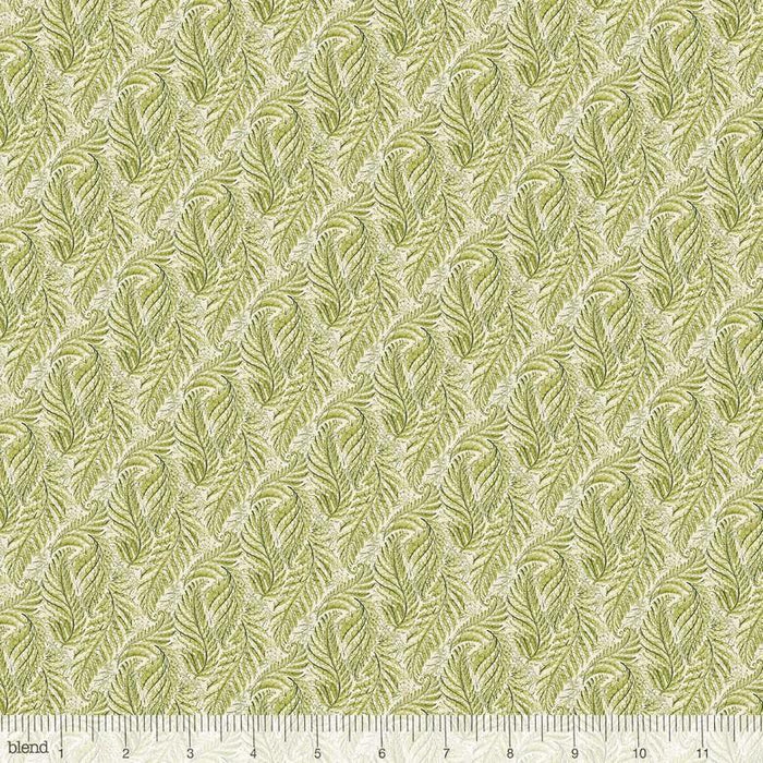 New! Bloom and Grow - Ferny Green - per yard - Cori Dantini - Blend - fern fronds - GREEN - 112.125.07.1 - RebsFabStash