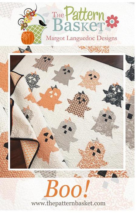 NEW! Boo! - QUILT KIT - Margot Languedoc - The Pattern Basket - All Hallows Eve - Fig Tree & Co. - pieced quilt - RebsFabStash