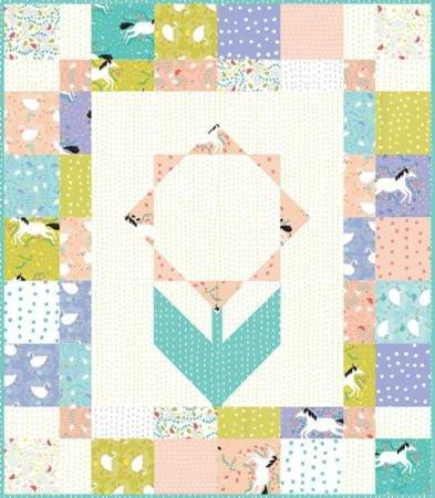 "New! Enchanted - (42) 10"" Squares - By Gingiber - MODA - Layer Cake - New Designer! - RebsFabStash"