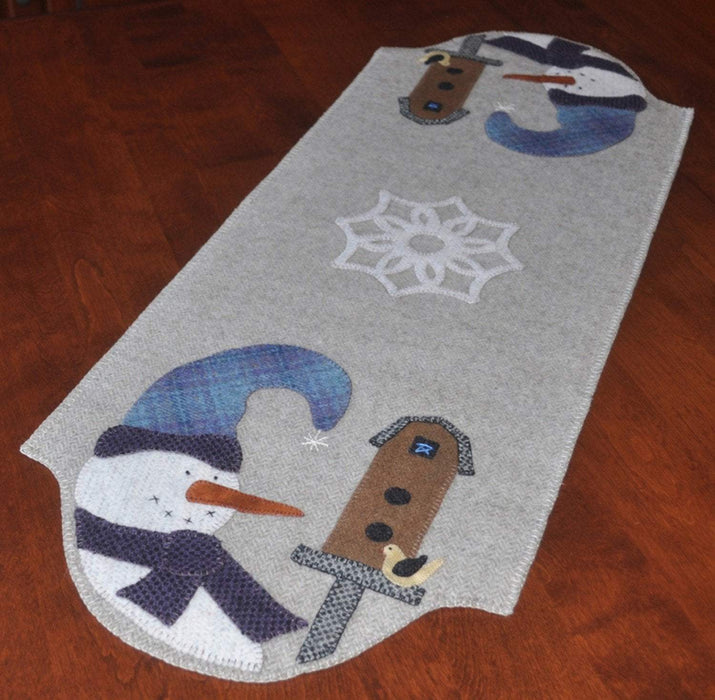 New! Flurry Friends - Table Runner Pattern - designed by Lori Kabat for Lily Anna Stitches - RebsFabStash