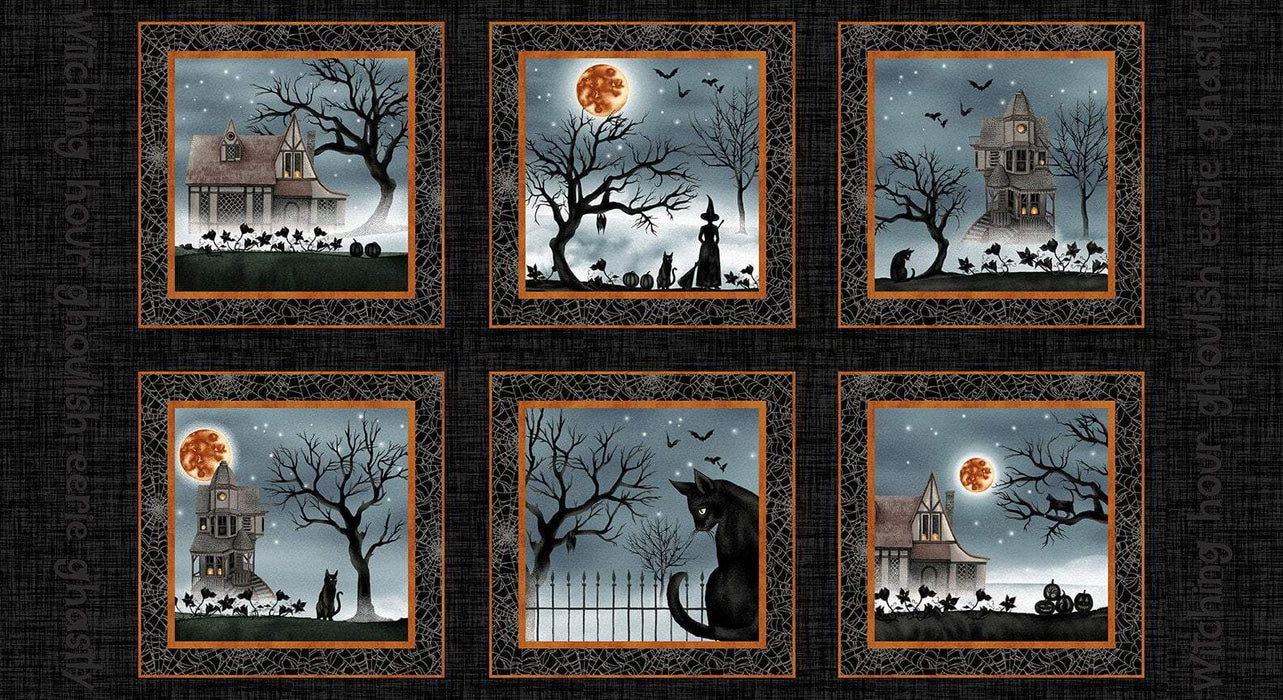 "New! Harvest Moon - PROMO - HALF YARD Bundle + 2 PANELS! - (16) 18"" x 43"" pieces + (1) 24"" panel + (1) 36"" panel - by Grace Popp for Studio E - RebsFabStash"