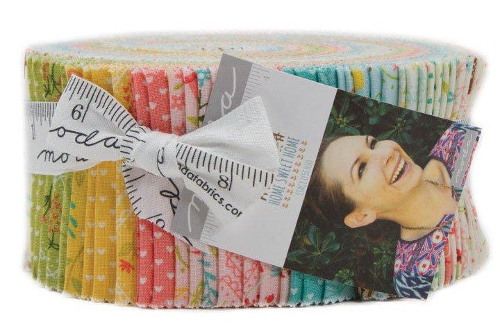 """New! Home Sweet Home - Jelly Roll - (40) 2.5"""" Strips - by Stacy Iest-Hsu - MODA - Quilting/Sewing Fabric - Goldilocks & Three bears - RebsFabStash"""