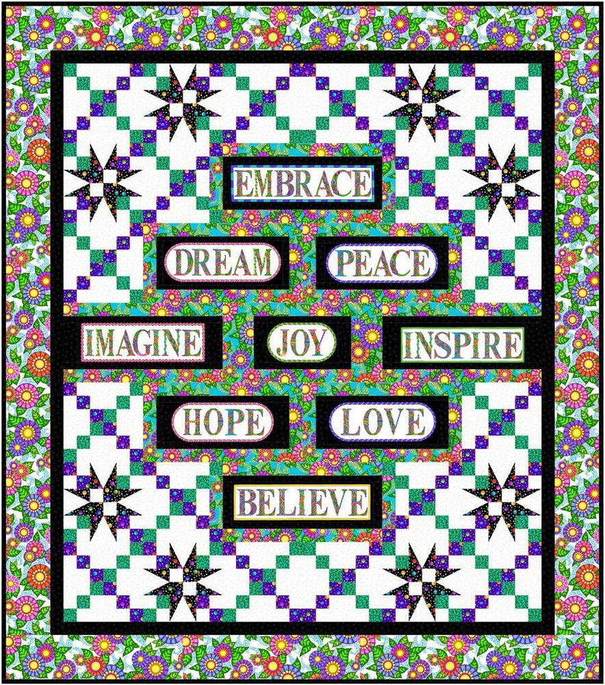 New! Inspiration - Quilt Pattern - Pat Syta & Mimi Hollenbaugh - Bound To Be Quilting - RebsFabStash