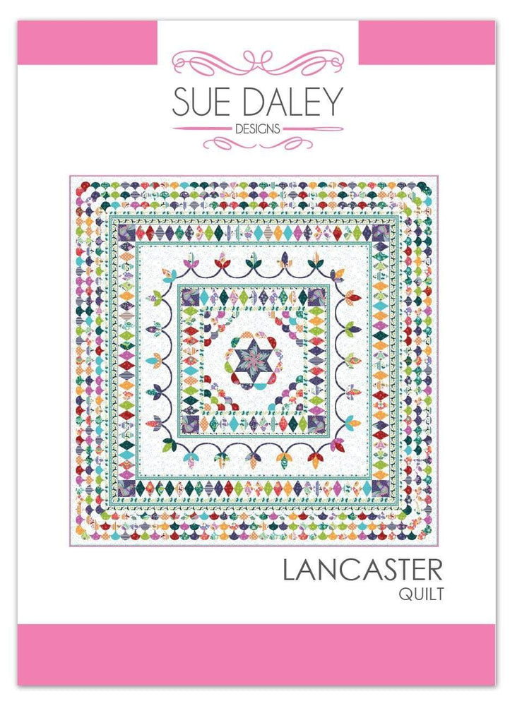 New! Lancaster Quilt - Quilt Pattern - by Sue Daley Designs - English Paper Piecing - RebsFabStash