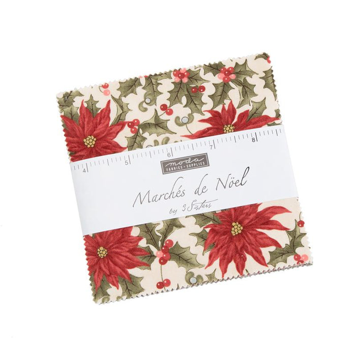 NEW! Marches de Noel   Charm Pack   Stacker   (42) 5