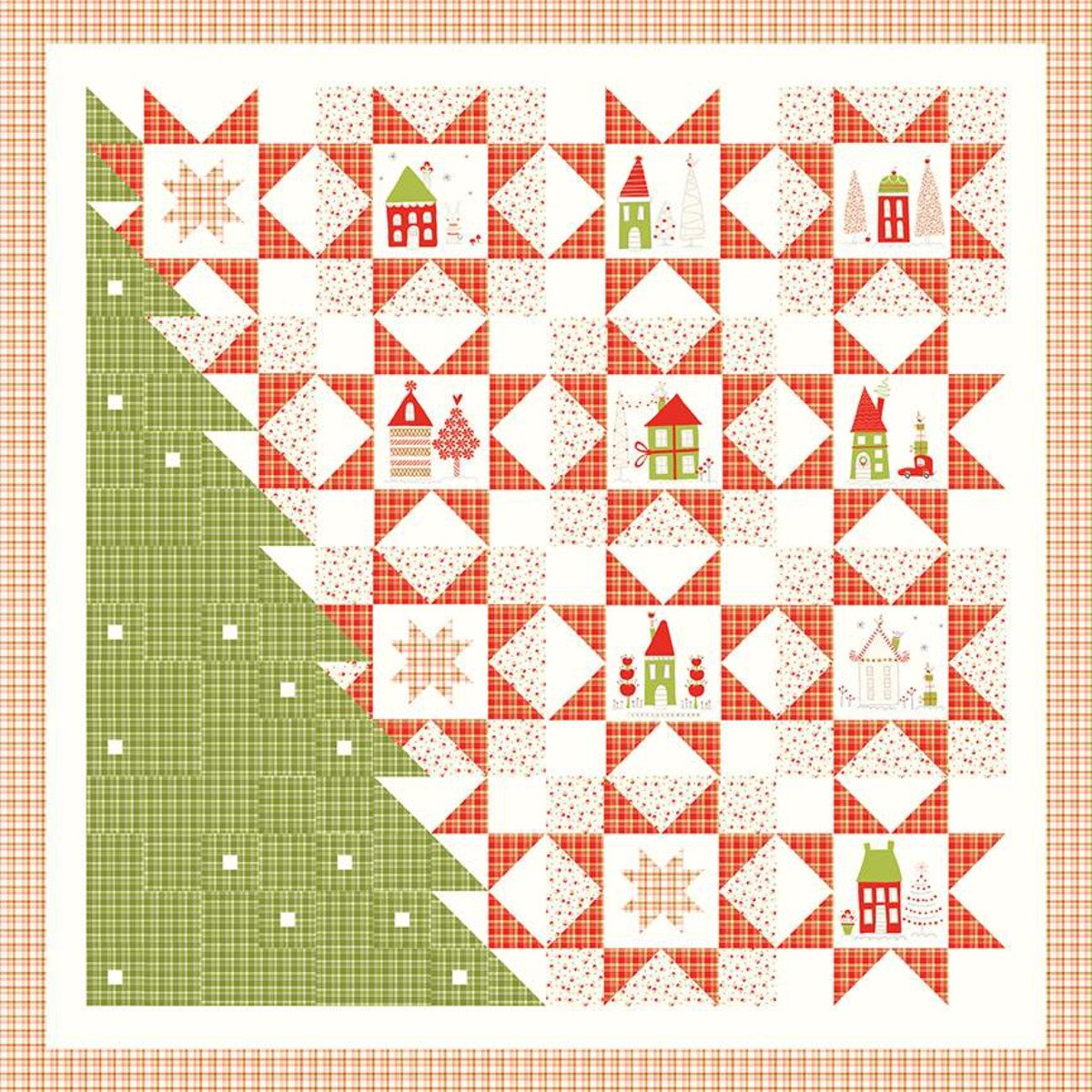 New Merry Little Christmas Panel Pattern 726 Quilt Pattern S