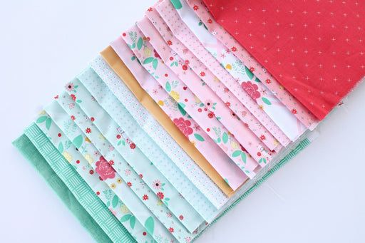 "NEW! Rose Lane - PROMO Fat Quarter Bundles - Multiple Options - 18"" x 21' pieces - Riley Blake - by Beverly McCullough - RebsFabStash"