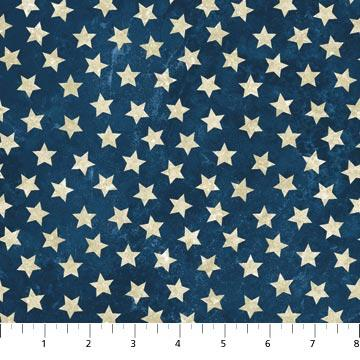NEW! Stonehenge - Stars and Stripes 7 - per yard - By Linda Ludovico & Deborah Edwards for Northcott - Ivory Tonal - 3934-195 - RebsFabStash