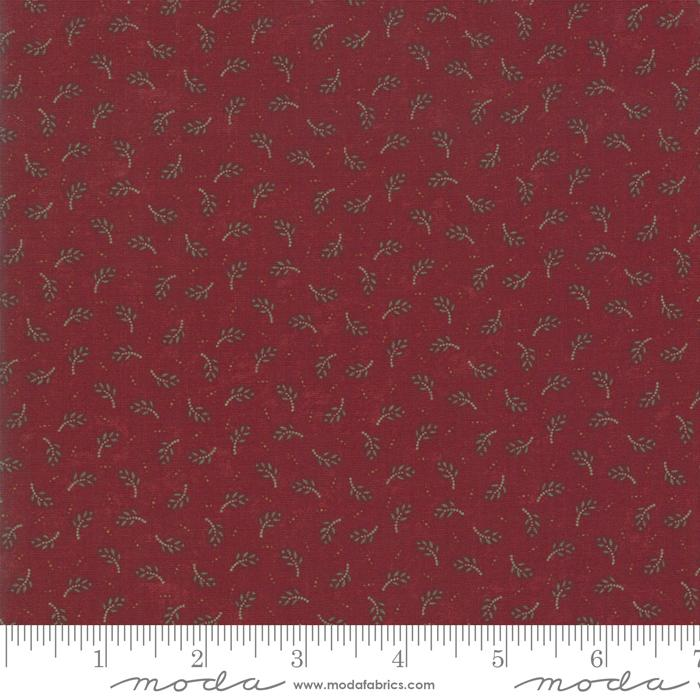 "NEW! Sweet Holly - Fat Quarter Bundle - (40) 18"" x 21"" pieces - MODA - by Kansas Troubles - vintage colors and images - RebsFabStash"
