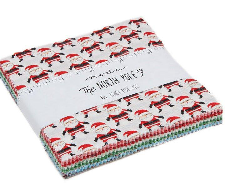 New! The North Pole Sampler - Quilt Pattern - by Stacy Iest-Hsu - MODA - Quilting/Sewing Fabric - Christmas - RebsFabStash