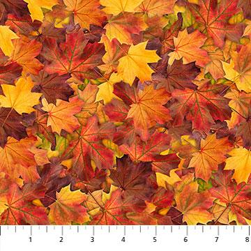 New! The View From Here - Autumn Warmth - per yard - by Northcott Studio - Autumn Sky - 23406-34 - RebsFabStash